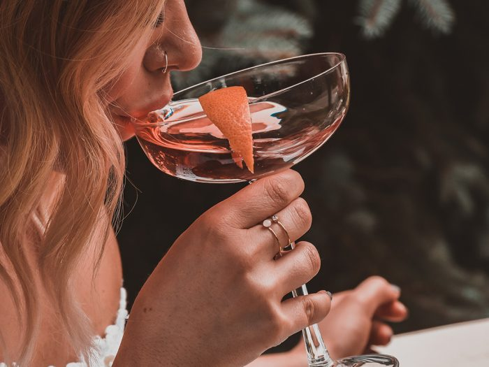Fall Tini cocktail recipe with gin