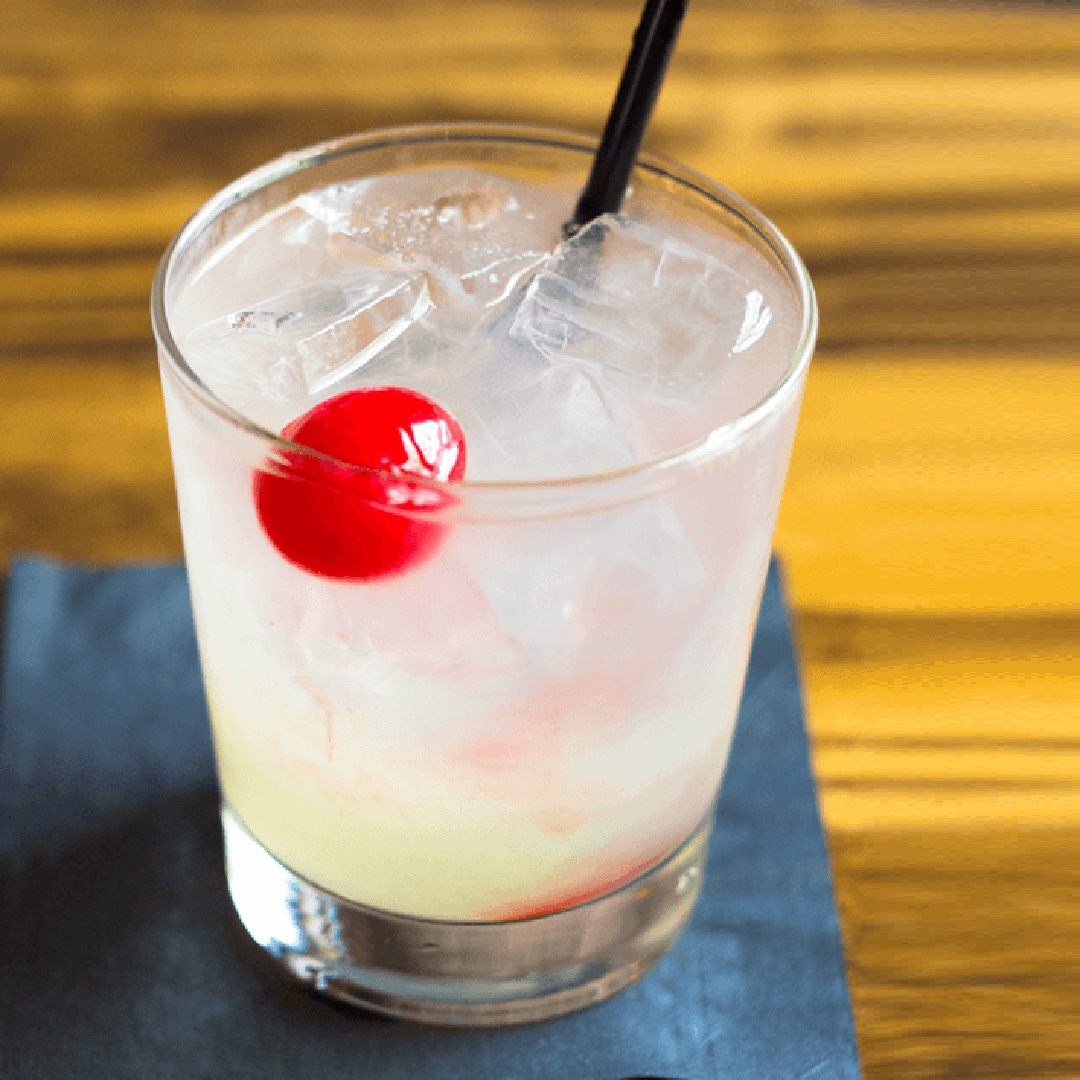 Capitol Collins gin cocktail with gompers gin from Chef Tim Love