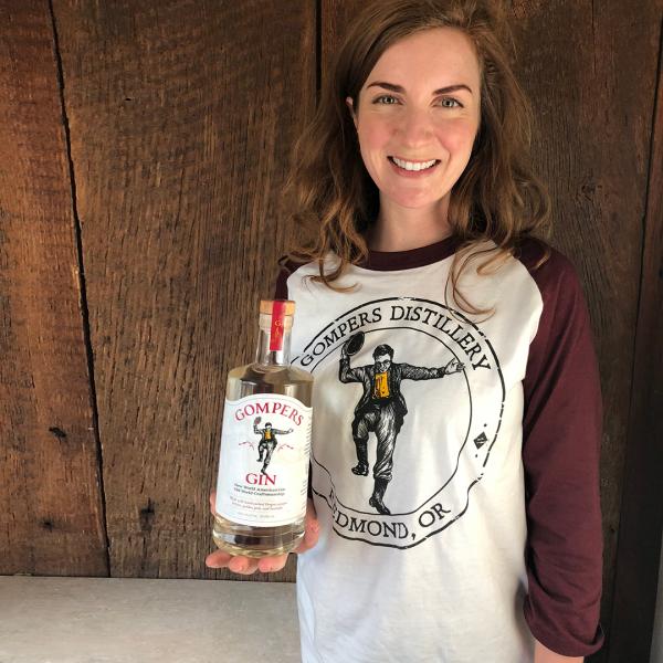 Gompers Distillery Raglan Jersey Shirt